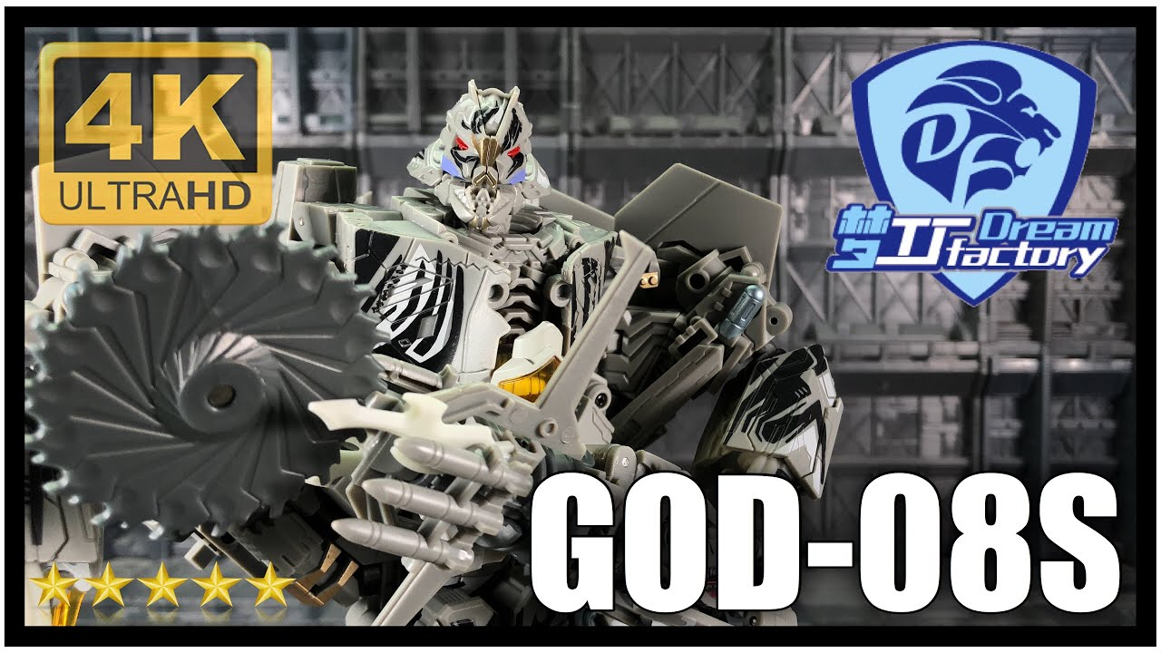 New Transformers Dream Factory GOD-08 Leader class  Starscream In Stock