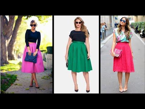 Como hacer una pollera midi DIY- how to make a midi skirt