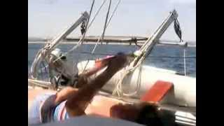 Antigua 37 Catamaran sailing Algarve