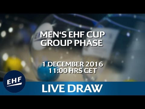 Men's EHF Cup Group Phase Draw | Men's EHF Cup