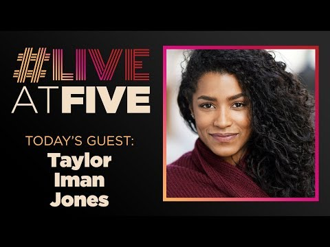 Broadway.com #LiveatFive with Taylor Iman Jones of HEAD OVER HEELS