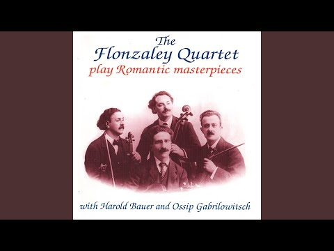 String Quartet No. 15 In G Major, D. 887 (Op. Posth. 161) : I. Allegro Molto Moderato