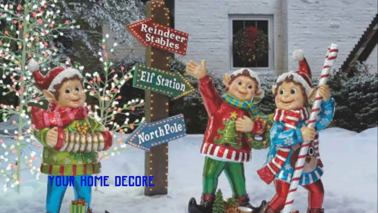 45 outdoor christmas yard decorations diy christmas yard decorations wooden christmas tree - Christmas Pole Decorations