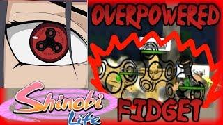 ROBLOX Shinobi Life OA - FIDGET SHARINGAN IS DEADLY
