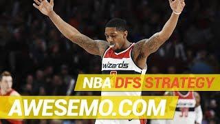 Yahoo, FanDuel & DraftKings NBA DFS Strategy - Thu 1/17 - Awesemo.com