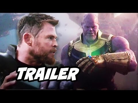 Avengers Infinity War Scene - Thanos Infinity Gauntlet and Odin's Gauntlet Explained