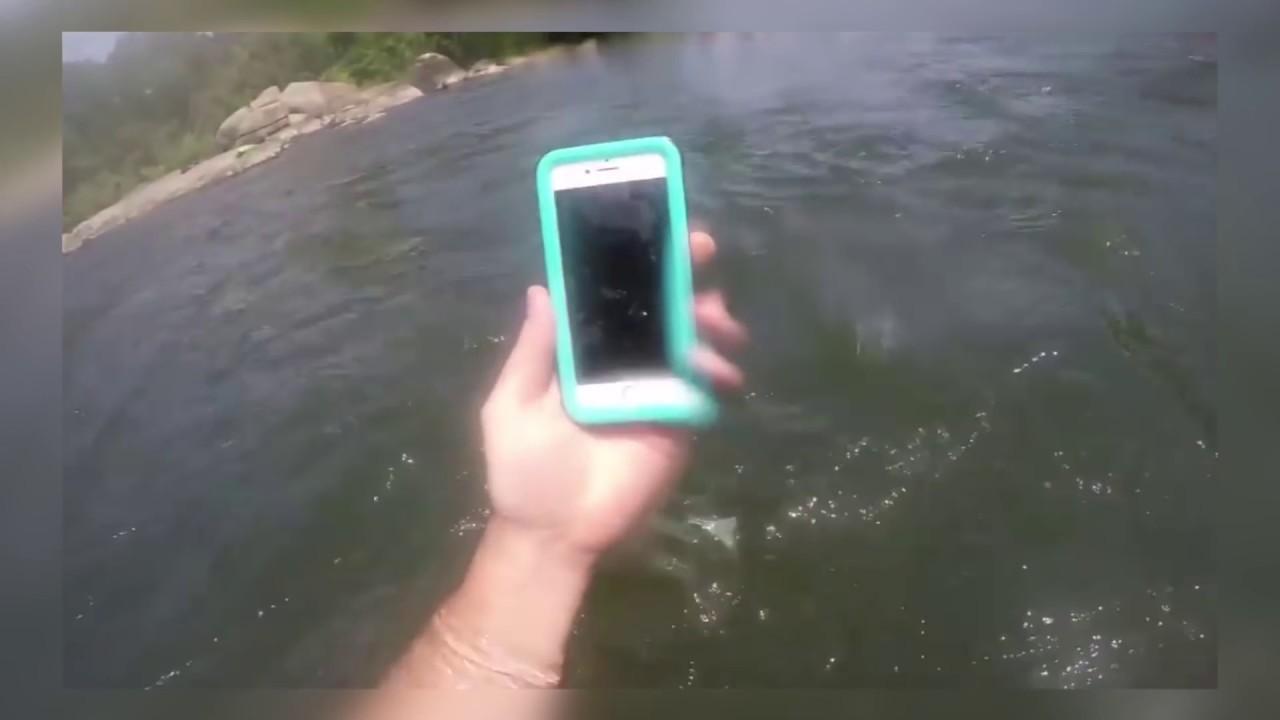 أغرب ما وجد في الأنهار