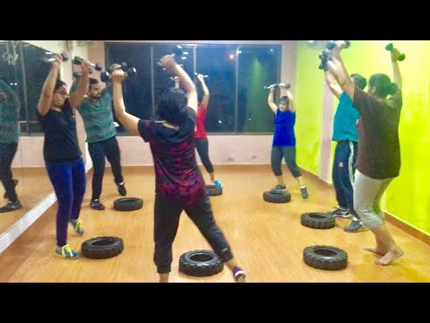 Garba Workout -Cardio Activity - Traditional - Garba Dance Fitness by Instructor Prasad Wadekar