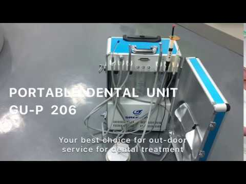 Shanghai Greeloy Portable dental unit with Curing light