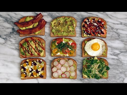 9 Ways to Make Avocado Toast | Eat the Trend
