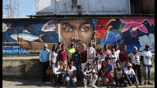 Baile, música, pintura y diálogo para frenar la estigmatización de líderes sociales en Guapi, Cauca