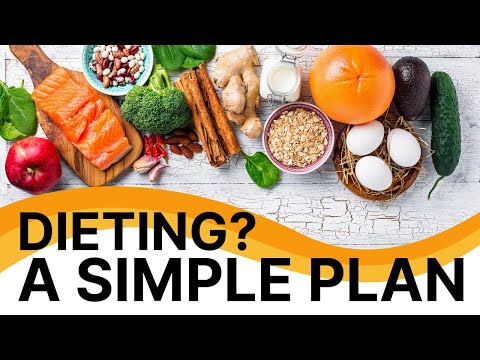 Dieting A Simple Plan – Easy way to lose weight for men – lose weight effortlessly – lose the belly