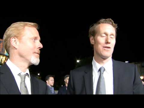 YAH Interview With Jon Lucas And Scott Moore At '21&Over' LA Red Carpet February 21, 2013