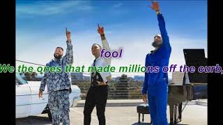 DJ Khaled Higher ft Nipsey Hussle, John Legend Lyrics (KARAOKE)