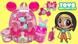 Disney Jr. Minnie Mouse-Ka-Explorer Adventure Backpack Play Set
