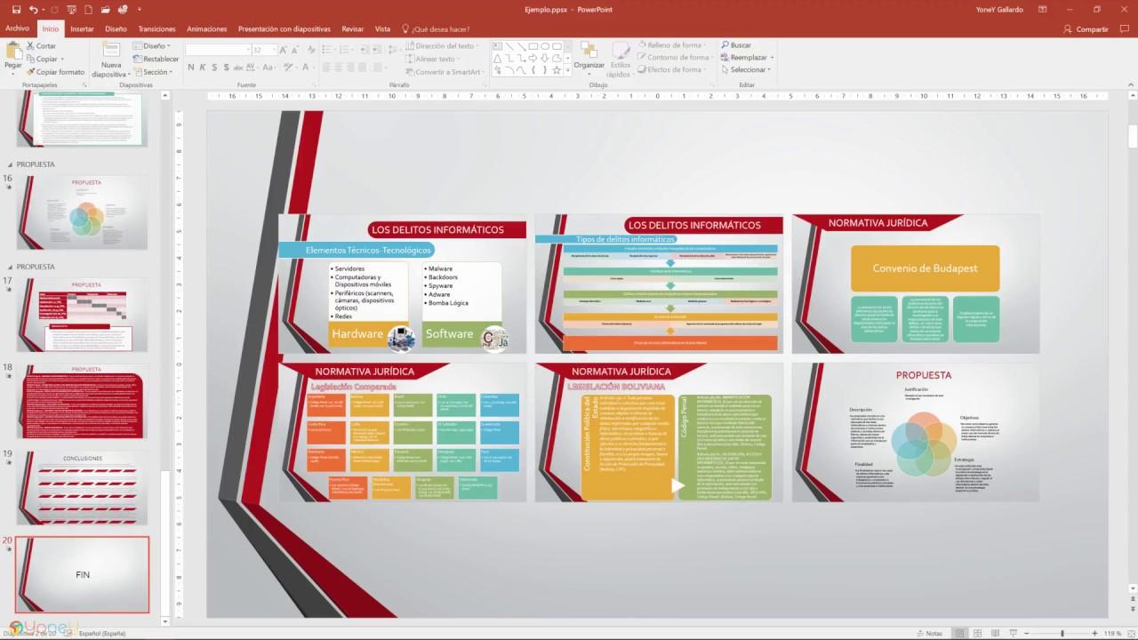 Cómo hacer un índice interactivo en PowerPoint - YouTube