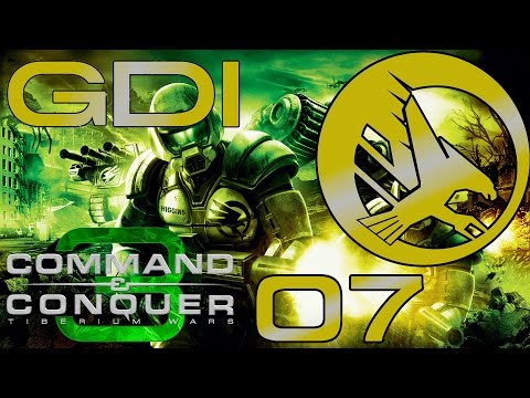 Command and Conquer 3 : Tiberium Wars   GDI Mission 7   Flood er Ports