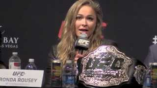 Ronda Rousey: Floyd Mayweather Would Box the Hell Out of Me