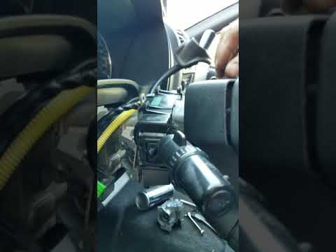 Chevrolet Colorado key cylinder replacement