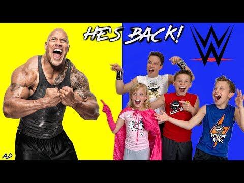 Ninja Kidz Go To WWE SmackDown Live!