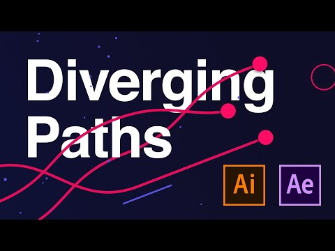 Diverging Paths - Adobe After Effects tutorial