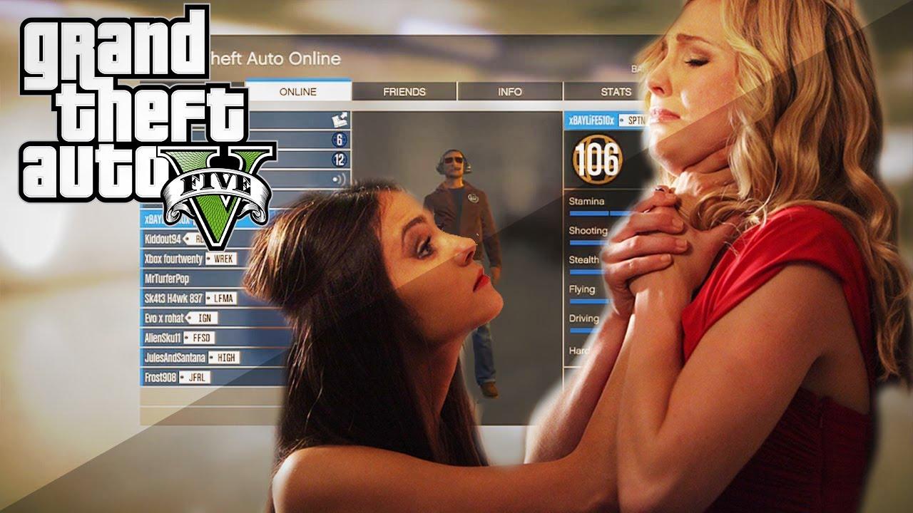 GTA 5: 2 Girls Bitch Fight! GTA 5 GIRL FIGHT - YouTube