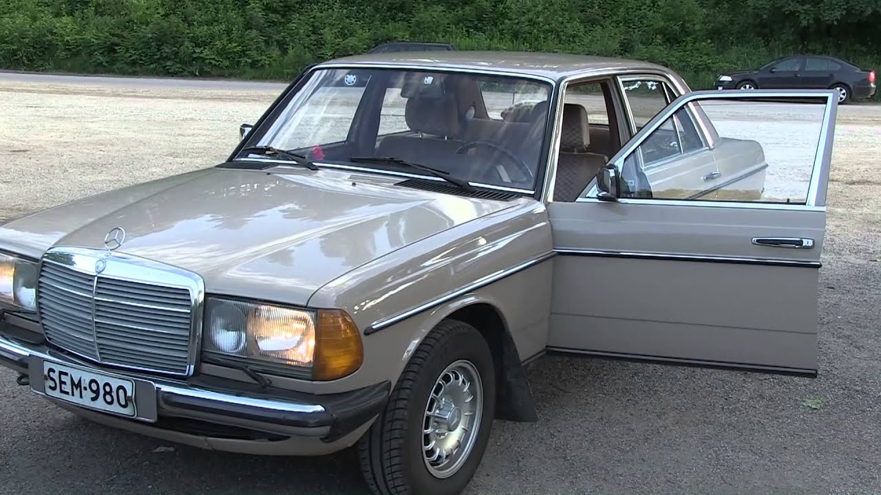 Mercedes benz 240d w123 1984 youtube for Mercedes benz 240 d