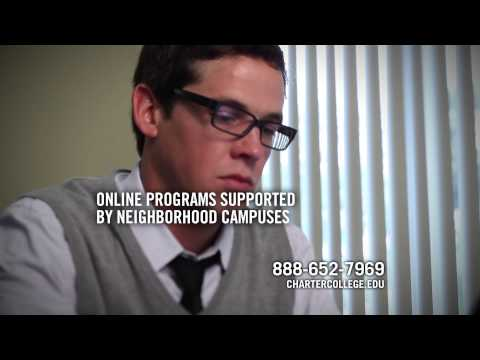 Online education with in person support - Charter College