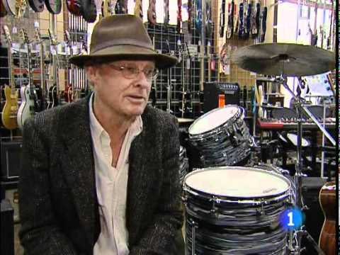 Chris Stewart the 1st Genesis drummer (1967 - summer 1968) enjoy his life in Spain