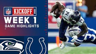 Seahawks vs. Colts Week 1 Highlights | NFL 2021