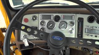 1990 Ford LTL 9000 at Auction