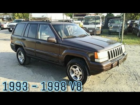 Oil Change 1997 Jeep Grand Cherokee Youtube