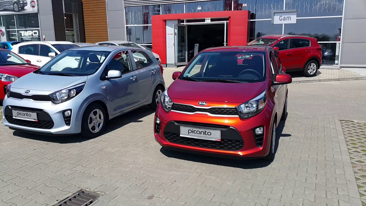Nowa Kia Picanto Kolory CU3 CELESTIAL BLUE G7A POP ORANGE ...