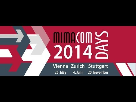 mimacom days 2014 Zurich: Next generation of banking portal, Dominique Emery (German)