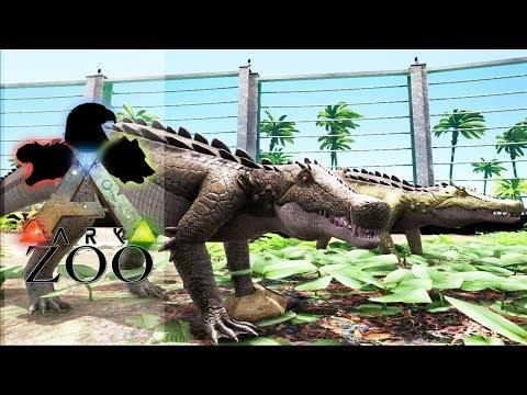 ARK ZOO - 57 : Installation des Sarco, Baryonyx et Kaprosuchus
