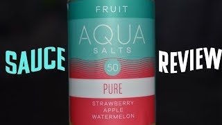 Aqua Pure Salt Nic Review