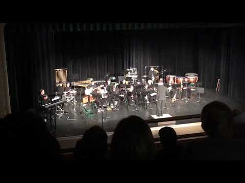 Manitou Springs High School Jazz Band Moondance 10/9/18