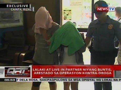 Lalaki at live-in partner niyang buntis, arestado sa operasyon kontra-droga