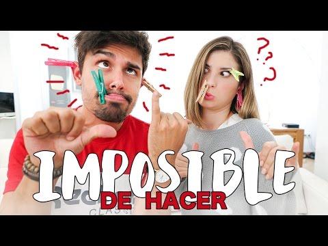 TAG IMPOSIBLE DE HACER | Claudia y Carlitos