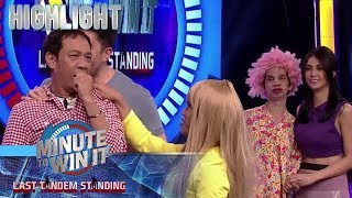 Long, pinag agawan nina Sugar at Suneo | Minute To Win It