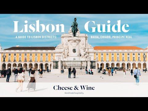 Visitors' Guide to Lisbon | Tour around Baixa, Chiado & Principe Real | Cheese & Wine