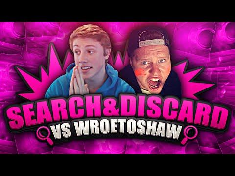CRAZY FIFA 15 SEARCH AND DISCARD VS WROETOSHAW!