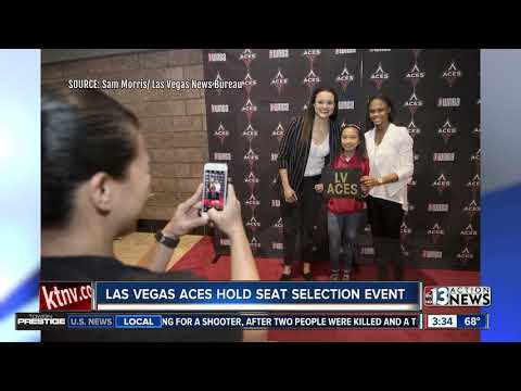 Las Vegas Aces hold seat selection event