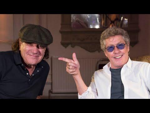 Roger Daltrey tells Brian Johnson why he began swinging his mic at gigs