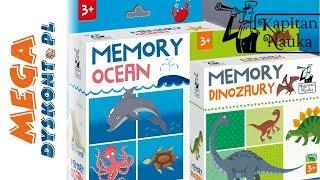 Kapitan Nauka  Memory Dinozaury i Ocen  kreatywne gry dla najmłodszych