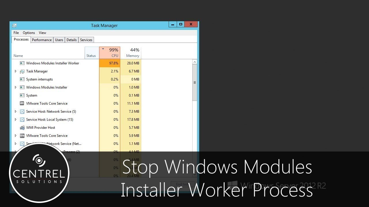 windows installer worker win 10