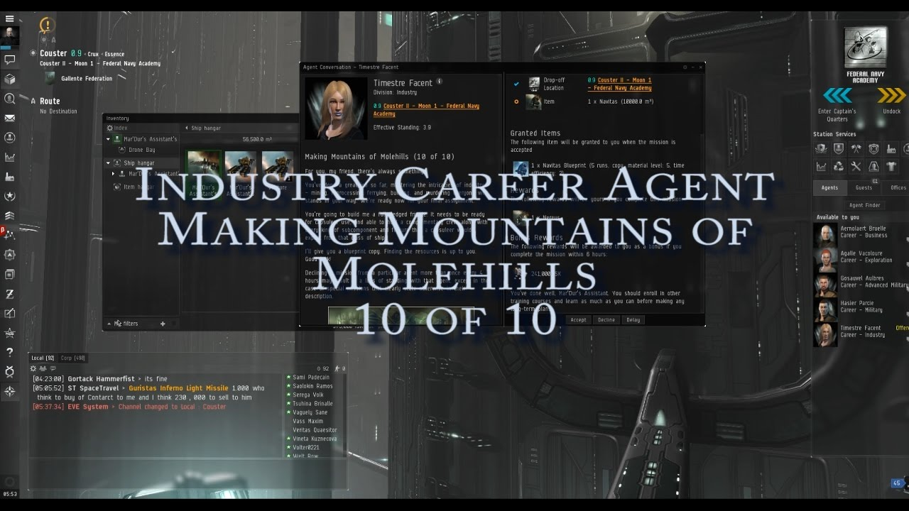 Eve online nano guide industry career agent mountains from eve online nano guide industry career agent mountains from molehills 10 of 10 malvernweather Images