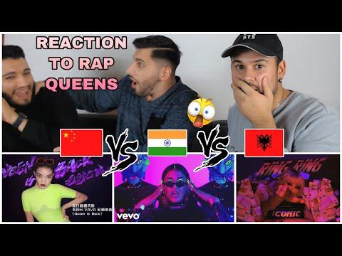 Reaction to Female Rap: VaVa (Chinese)  vs. Raja Kumari (Indian) vs. Dafina Zeqiri (Albanian)
