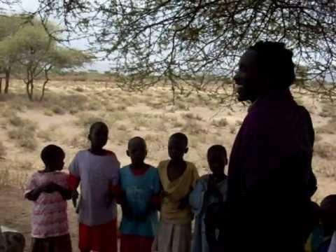 Children of Africa singing for a better World