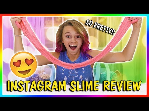 KAYLA'S INSTAGRAM SLIME REVIEW | We Are The Davises